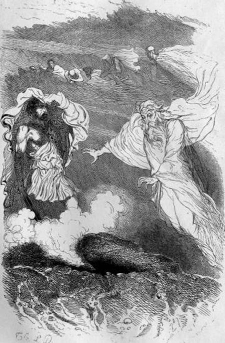 Ulysse rencontre sa mere aux enfers